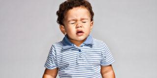 ребенок больной аллергическим трахеитом