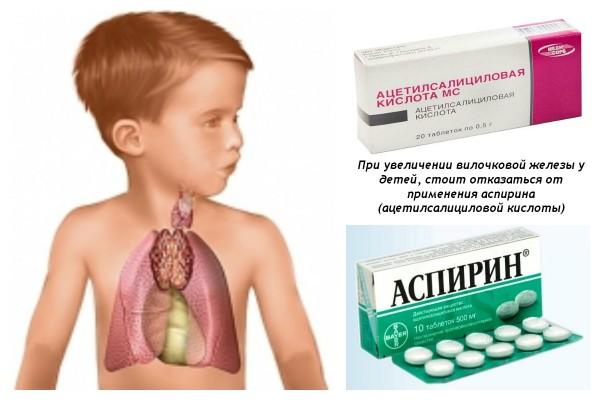 аспирин при темомегалии