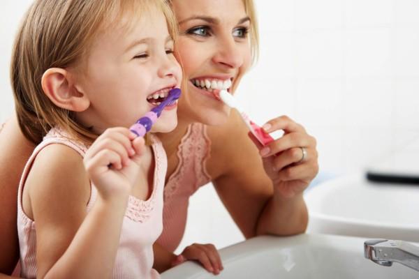 веселая чистка зубов