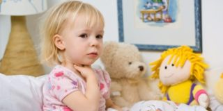Лающий кашель у ребенка - признак респираторных инфекций