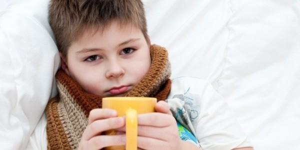 язвочки в горле у ребенка
