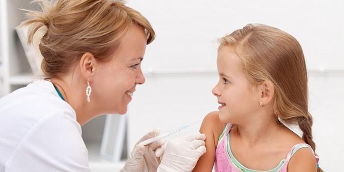 столбняк прививка