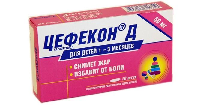 цефекон для детей