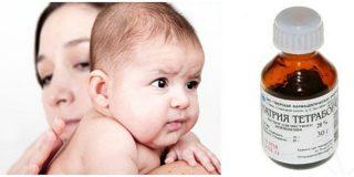 Натрия тетраборат детям от стоматита, ангины и молочницы во рту