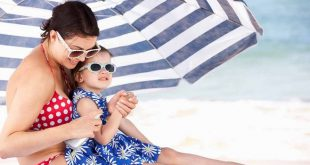 Солнечный ожог кожи у ребенка
