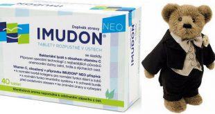Имудон для стимуляции иммунитета у детей