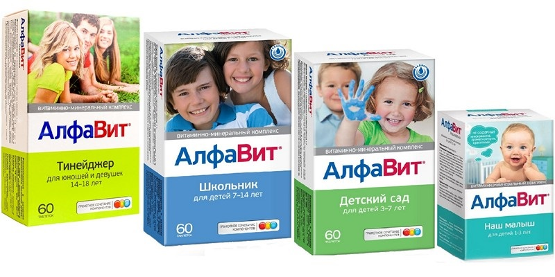 Алфавит витамины инструкция для детей