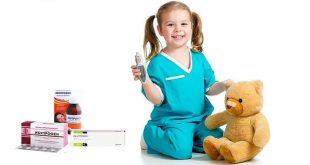 Средство от температуры Ибупрофен для детей