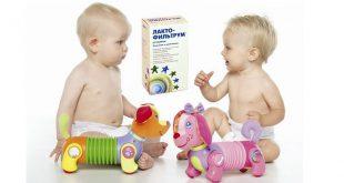 Лактофильтрум для детей – лечение и профилактика дисбактериоза