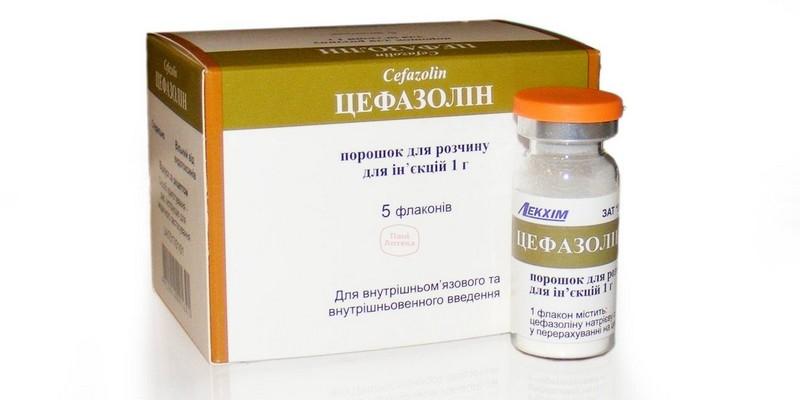 Инструкция цефазолин акос