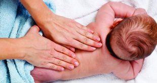 Как делать массаж новорожденному ребенку