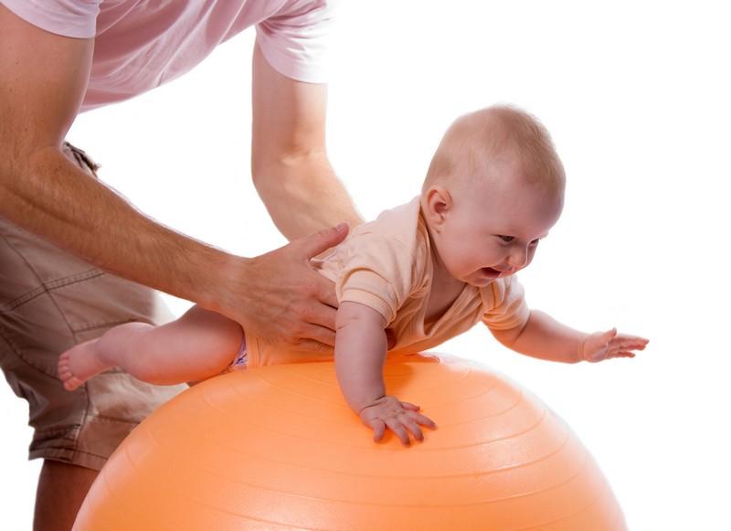 рефлекторный массаж ребенку