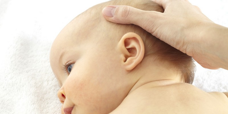 Массаж головы ребенку