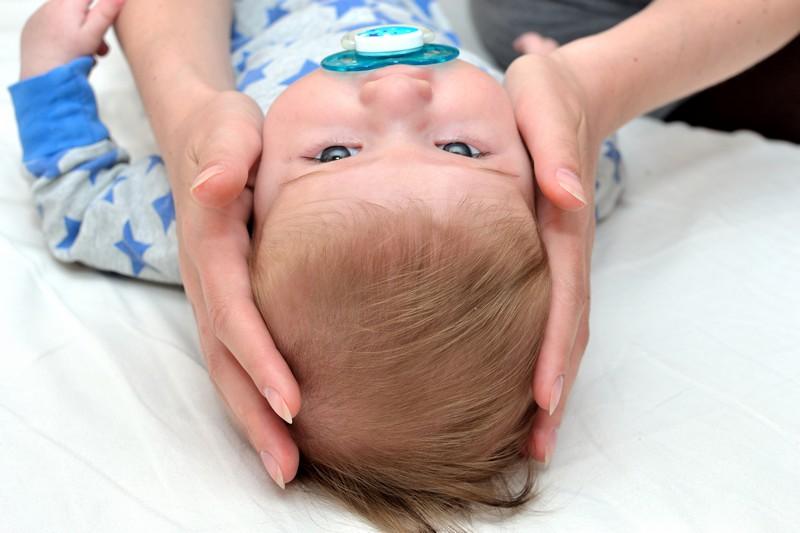 массаж головы ребенку 3 месяца