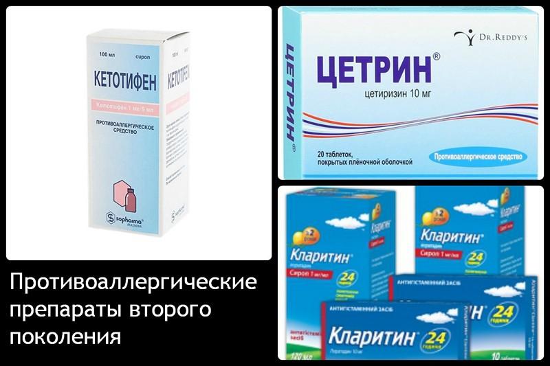 Антигистаминные препаратывторогопоколения