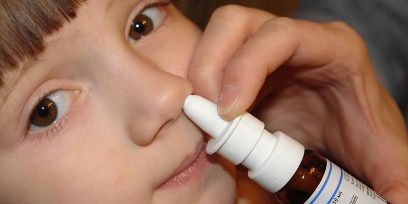 Капли при заложенности носа у детей
