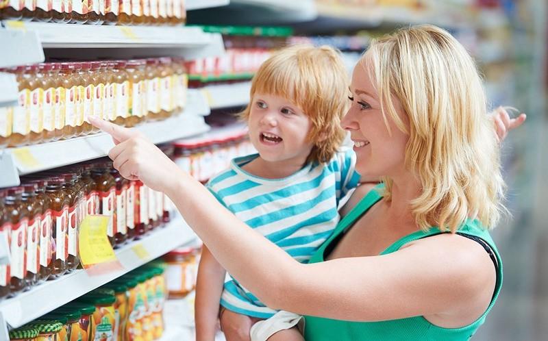 Продукты питания при целаксии у детей