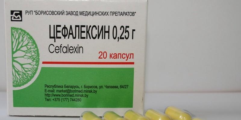 Антибиотик Цефалексин