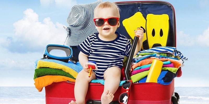 Списки необходимых вещей для ребенка на море