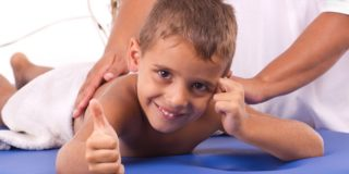Расслабляющий массаж для детей