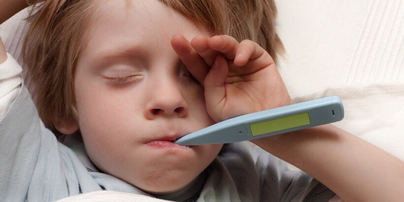 У ребенка температура 39 без симптомов