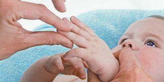 Точечный массаж для детей