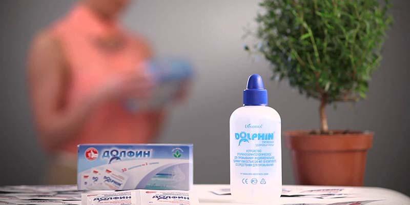 Долфин для промывания носа при насморке у детей