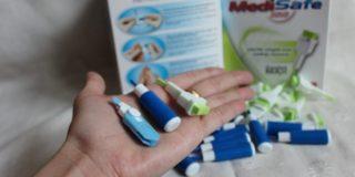 Безболезненный ланцет для забора крови у детей