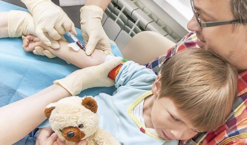Анализ крови для выявления инфекции